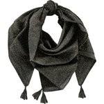 Pañuelo borla noir pailleté - PPMC