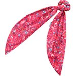 Long tail scrunchie cherry cornflower - PPMC