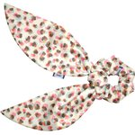 Short tail scrunchie confetti aqua - PPMC