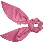 Short tail scrunchie etoile or fuchsia - PPMC
