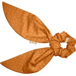 Short tail scrunchie caramel golden straw - PPMC