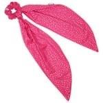 Long tail scrunchie etoile or fuchsia - PPMC