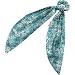 Long tail scrunchie celadon violette - PPMC