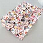 Furoshiki medium 48x48 petites filles pop - PPMC