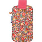 Big phone case peach flower - PPMC