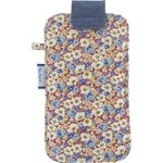 Big phone case carnations jeans - PPMC