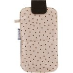 Big phone case pink coppers spots - PPMC