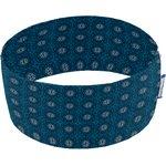 Bandeaux jersey fleur bleu canard f2 - PPMC