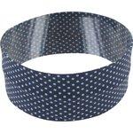 Turbantes elasticos pois mini gris ciel e8 - PPMC