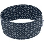 Stretch jersey headband  vagues géo marines c8 - PPMC