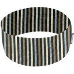 Bandeaux jersey rayé noir gris beige f0 - PPMC