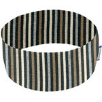 Stretch jersey headband  rayé noir gris beige f0 - PPMC