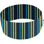 Turbantes elasticos rayé noir anis bleu j3 - PPMC