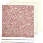 Kit Masque Barrière exd paquerette rose blanc - PPMC