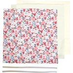 Kit Masque Barrière exd ronds de fleurs - PPMC