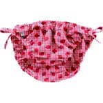 Swimsuit - 6 year old size ladybird gingham - PPMC