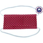 Child Mask pastille blanc rouge ex998 - PPMC