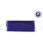 Child Mask navy blue spots - PPMC