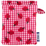 Make-up Remover Glove ladybird gingham - PPMC