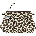 Mini Pleated clutch bag leopard print - PPMC