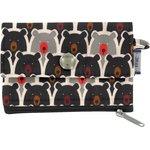 zipper pouch card purse pop bear - PPMC