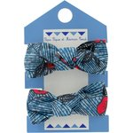 Small elastic bows flowered night - PPMC
