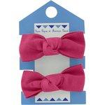 Small elastic bows fuschia - PPMC