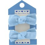 Small elastic bows oxford blue - PPMC