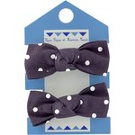 Small elastic bows plum spots - PPMC