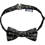 Kid bow-tie golden straw - PPMC