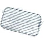 Belt bag striped blue gray glitter - PPMC