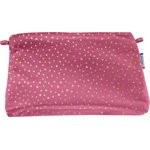 Coton clutch bag fuchsia gold star - PPMC
