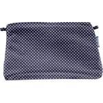 Pochette coton etoile marine or - PPMC
