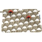 Coton clutch bag flamingo - PPMC