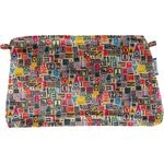 Coton clutch bag multi letters - PPMC
