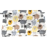 Coton clutch bag yellow sheep - PPMC