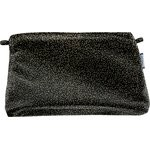 Coton clutch bag noir pailleté - PPMC