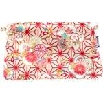 Pochette coton  origamis fleuris - PPMC