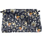 Coton clutch bag lyrebird - PPMC