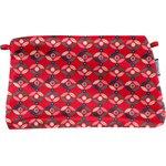 Coton clutch bag paprika petal - PPMC