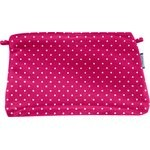 Coton clutch bag fuschia spots - PPMC