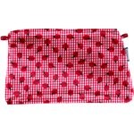 Coton clutch bag ladybird gingham - PPMC