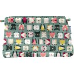 Coton clutch bag animals cube - PPMC