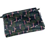 Tiny coton clutch bag autumn tale - PPMC