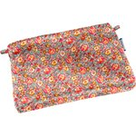Tiny coton clutch bag peach flower - PPMC