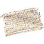 Mini pochette coton gouttes pastel - PPMC