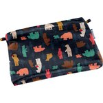 Tiny coton clutch bag grizzly - PPMC