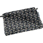Tiny coton clutch bag  hedgehog - PPMC