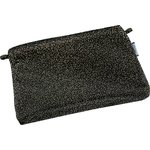 Tiny coton clutch bag noir pailleté - PPMC