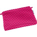 Tiny coton clutch bag fuschia spots - PPMC